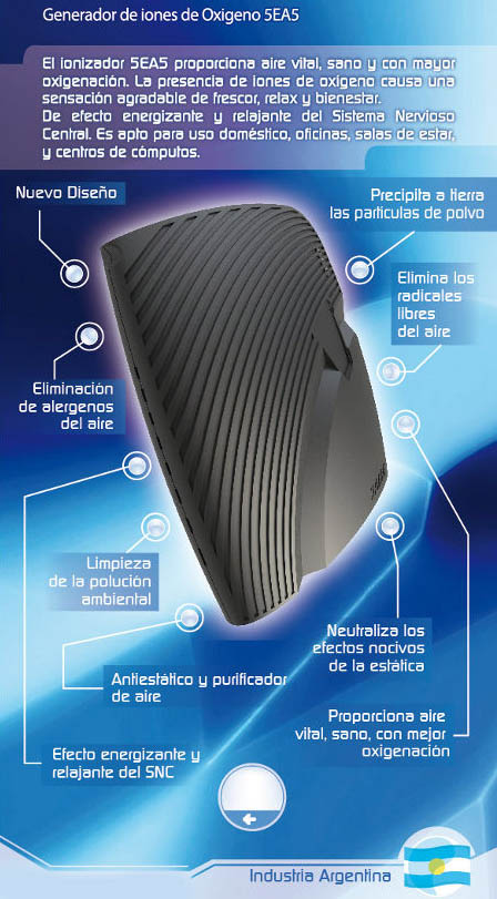 Circuito Ionizador De Aire : Ionizadores de aire ozonizadores neutralizador